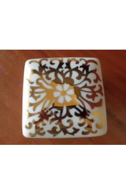 Caixa de Porcelana Decorativa (5 x 10 x 10 cm)